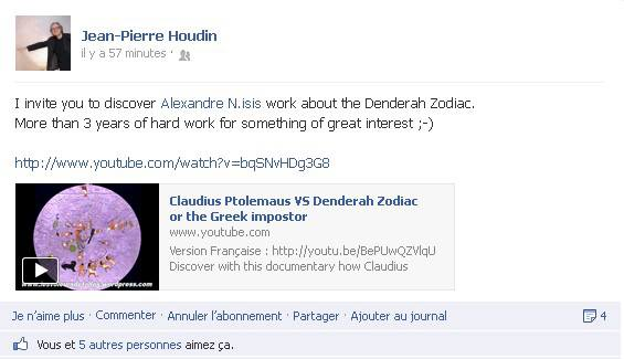 Jean-Pierre Houdin recommandation